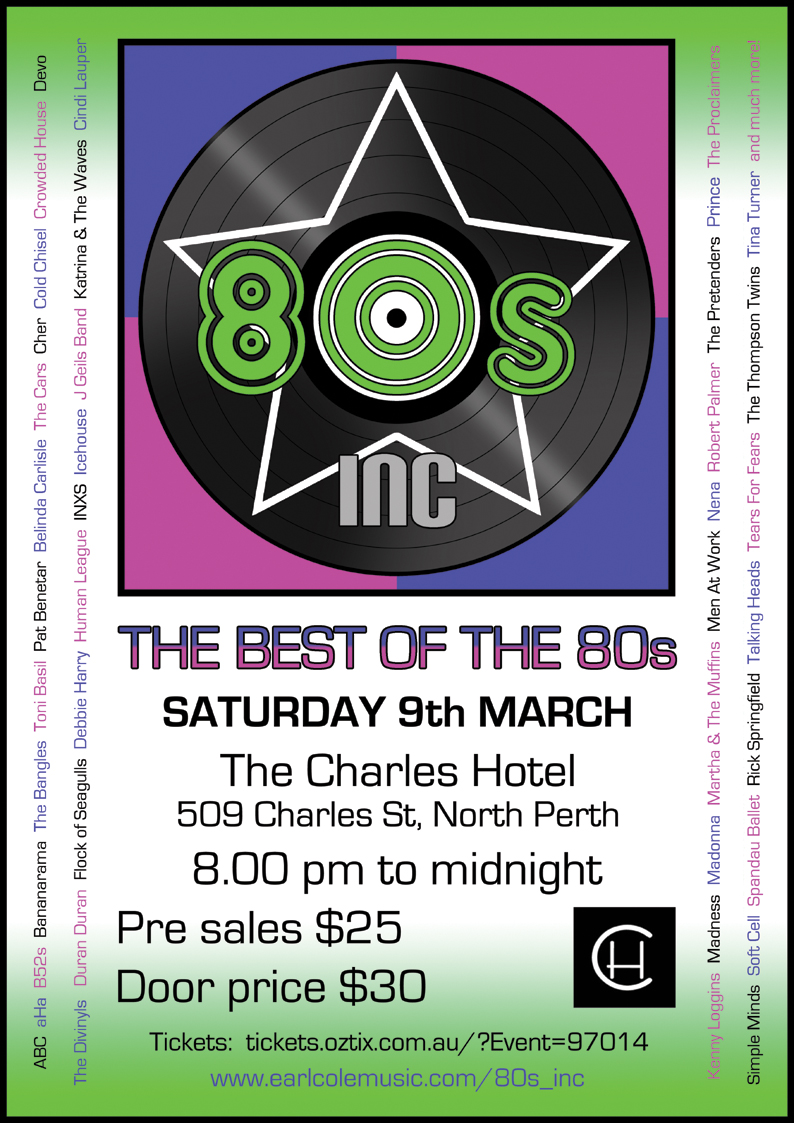 80s Inc 9th March 2019 A4 low res